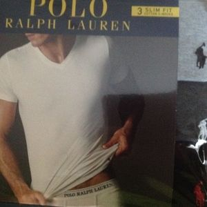 Polo Ralph Lauren Slim Fit Tees Gray Tones 3pk S